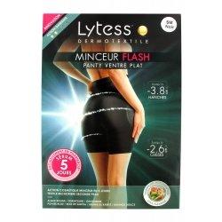 Lytess Minceur Flash Panty Ventre Plat Noir S-M