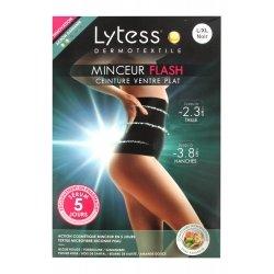 Lytess Minceur Flash Ceinture Ventre Plat Noir L-XL