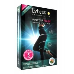 Lytess Legging Ventre Plat Minceur Flash Noir L-XL