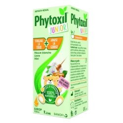 Phytoxil Junior Sirop Toux et Gorge Arômes Fraise-Framboise 100ml