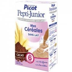 Picot Pepti-Junior Mes Céréales Cacao 6 Mois 300g