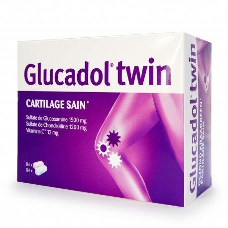 Glucadol twin 2 x 84 comprimes