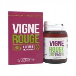 Nutrisanté Nutri'Sentiels Vigne Rouge 30 gélules