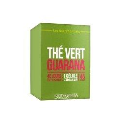 Nutrisanté Nutri'Sentiels Thé Vert & Guarana 40 gélules