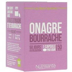 Nutrisanté Les Nutri'Sentiels Onagre Bourrache 50 capsules