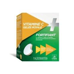Nutrisanté Vitamine C + Gelée Royale 24 comprimés