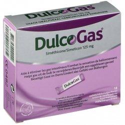 Dulcogas Gaz Intestinaux/Ballonnement 18 sachets