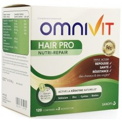 Omnivit Hair Pro Nutri Repair 120 comprimés