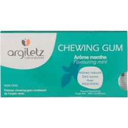 Argiletz Chewing Gum Argil\'Gum Menthe
