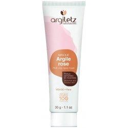 Argiletz Mini Masque Visage Argile Rose Prête à l'Emploi 30g