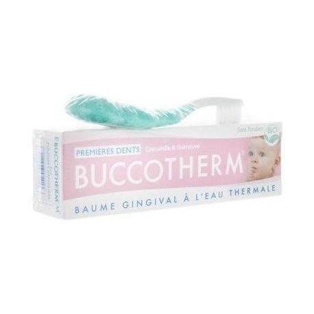 Buccotherm Soin Nourrissons Kit Premières Dents Baume 50ml + 1 Brosse à Dents