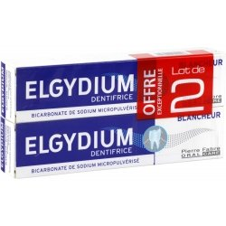 Elgydium Dentifrice Blancheur Lot de 2 x 75ml