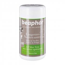 Beaphar Lingettes Nettoyantes pour Chiens & Chats 100 lingettes