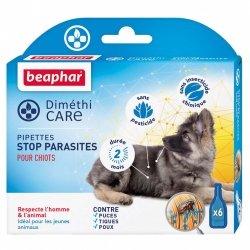Beaphar Diméthicare Pipettes Stop Parasites pour Chiots 6x1,5ml