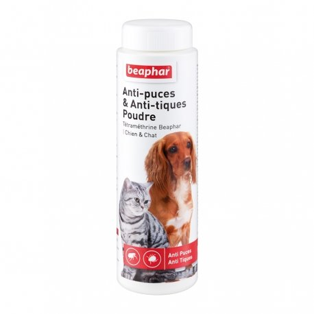 Beaphar Anti-Puces & Anti-Tiques Poudre Chiens & Chats 150g