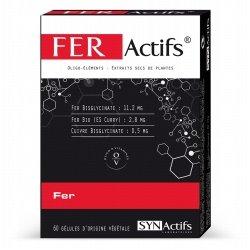 Synactifs Feractifs Fer 60 gélules