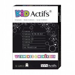 Synactifs Kidactifs Vitamines & Minéraux 30 gummies