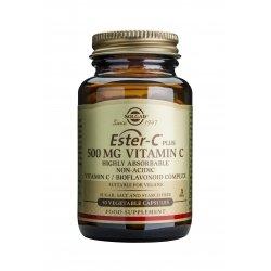 Solgar Ester-C® Plus 500mg Vitamin C 50 gélules végétales