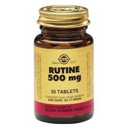 Solgar Rutine 500mg 50 comprimés