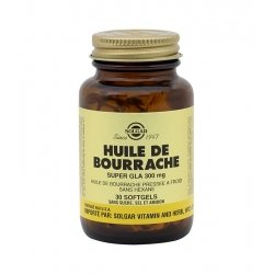 Solgar Huile de Bourrache Super GLA 300mg 30 Softgels