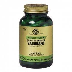 Solgar Extrait de Racine de Valeriane 60 gélules végétales