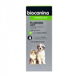 Biocanina Plurivers Sirop Vermifuge Chiens et Chats 90ml