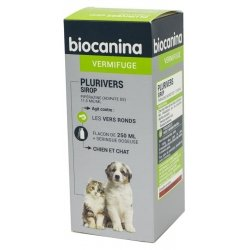 Biocanina Plurivers Sirop Vermifuge Chiens et Chats 250ml