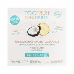 Toofruit Sensibulle Pain Dermatologique Coco Ananas 85g