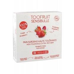 Toofruit Sensibulle Pain Dermatologique Fraise Framboise 85g