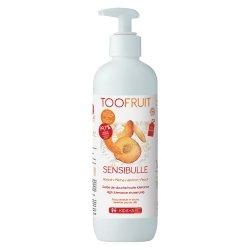 Toofruit Sensibulle Gelée de Douche Abricot Pêche 400ml