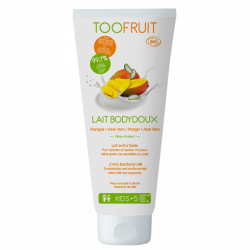 Toofruit Lait Bodydoux Mangue Aloe Vera 150ml