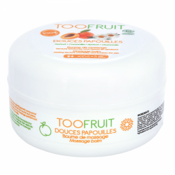 Toofruit Douces Papouilles Baume de Massage Abricot Camomille 75ml