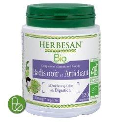 Herbesan Phyto Radis Noir Artichaut Bio 120 comprimés
