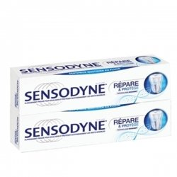 Dentifrice Sensodyne Répare et Protège Lot de 2 x75ml