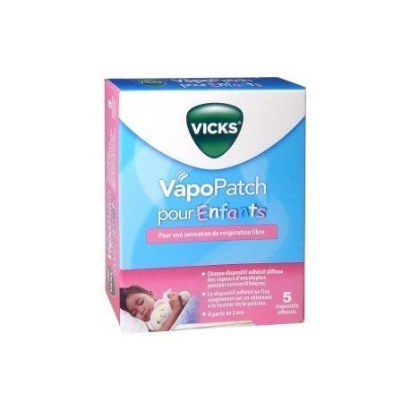 Vicks VapoPatch Enfants 5 patchs