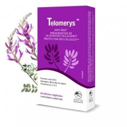 Phyto Research Telomerys Anti-Age 60 gélules végétales
