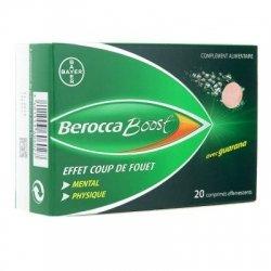 Berocca Boost Guarana 20 comprimés