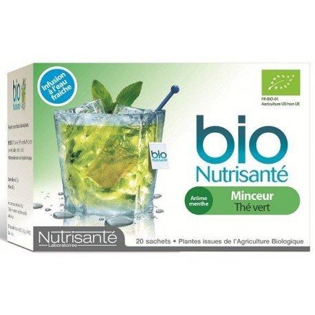 Nutrisanté Infusion Bio Froide : Minceur 20 sachets