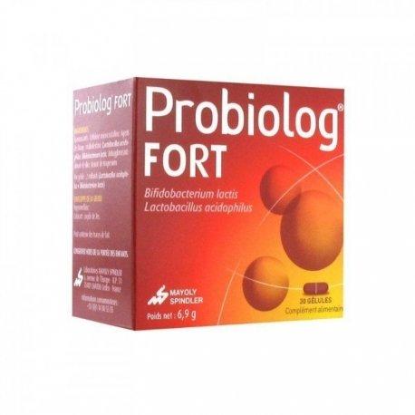 Probiolog Fort  - Probiotique Boîte de 30 gélules