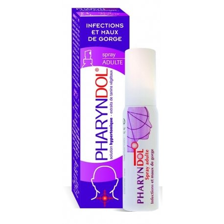 Pharyndol Maux de Gorge Spray Adulte 30ml