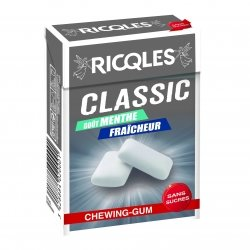 Ricqles Classic Chewing-Gum Menthe28g