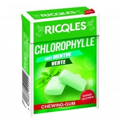 Ricqles Chlorophylle Chewing-Gum 29g