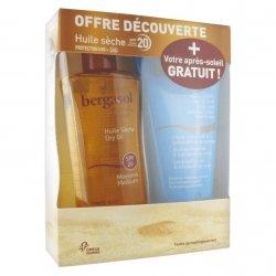 Bergasol Coffret Huile SPF20 125ml + Après-Soleil 150ml GRATUIT
