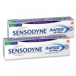 Sensodyne Dentifrice Rapide Action Sensibilité Dentaire 2x75ml