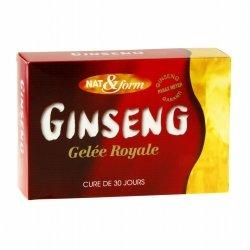 Nat & Form Ginseng Gelée Royale 30 ampoules de 10ml