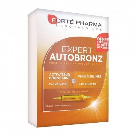 Forté Pharma Expert Autobronz 30 ampoules de 10ml