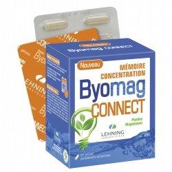 Lehning Byomag Connect Mémoire Concentration 60 gélules