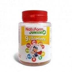 Nat & Form Junior 9 Vitamines 30 capsules