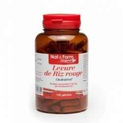 Nat & Form Levure de Riz Rouge 120 gélules