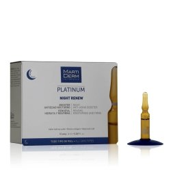 Martiderm Platinum Night Renew 10 Ampoules de 2 ml